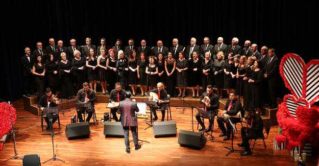 SATSO Türk Müziği Topluluğu'ndan  sevgi konseri