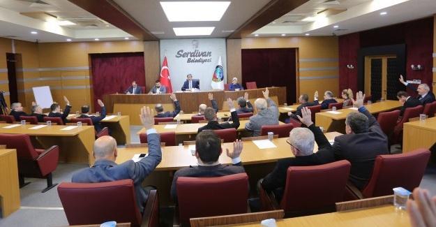 Serdivan'da Şubat meclis toplantısı yapıldı