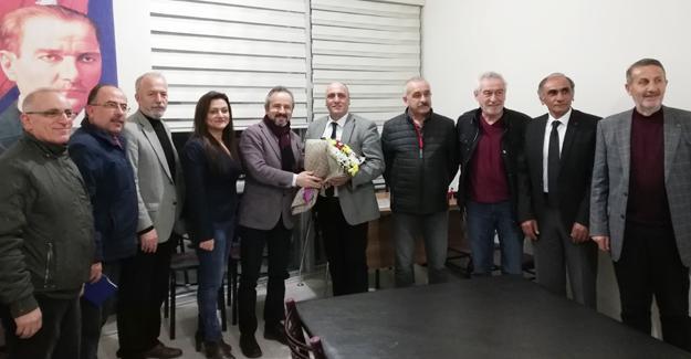 Zafer Kazan İYİ Partiyi ziyaret etti