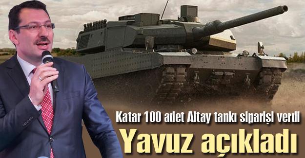 100 adet Altay tankı siparişi verdi