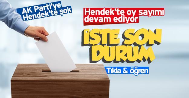 AK Parti'ye Hendek'te şok!