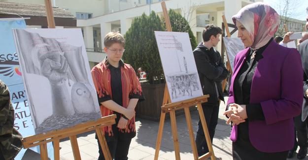 Güzel Sanatlar Lisesi'nden resim sergisi