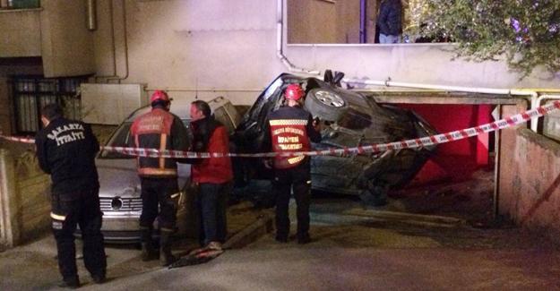 Hendek'te kaza! 4 yaralı
