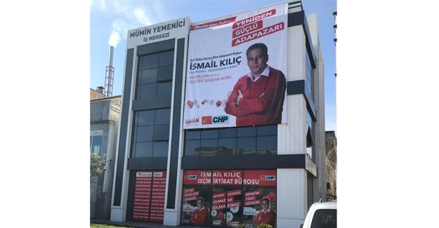İsmail Kılıç Seçim İrtibat Bürosu açılıyor