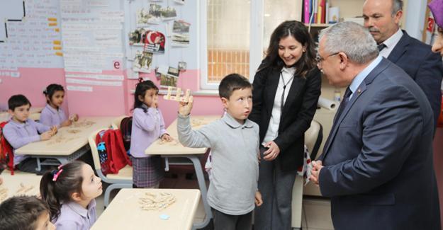 Vali Nayir Söğütlü İlkokulunu ziyaret etti