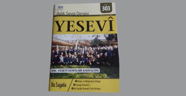 Yesevi'nin 303. sayısı çıktı