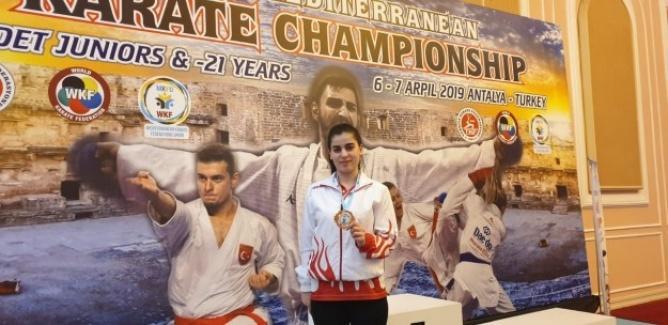 Aygüneş, Antalya'da üçüncü oldu