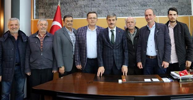 Başkan Alemdar'a ziyaretler sürüyor