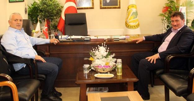Kırkpınar Ağası'ndan Başkan Gündoğdu'ya ziyaret