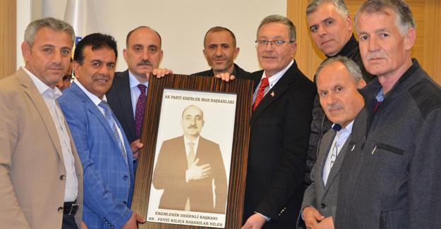 Mahalle başkanlarından Başkan Kılıç'a ziyaret