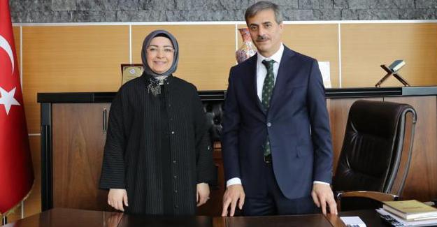 Milletvekili Atabek'ten Alemdar'a hayırlı olsun ziyareti