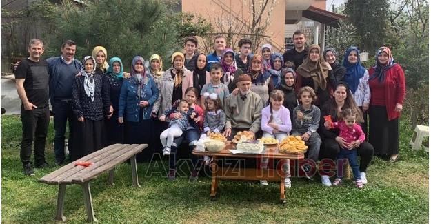 Mustafa dedeye 101. yaş sürprizi