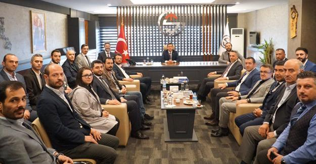AK Parti'den Sakarya GİAD'a ziyaret