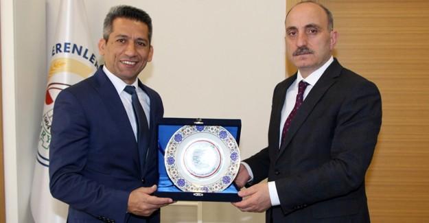 Başkan Burak'tan, Başkan Kılıç'a ziyaret