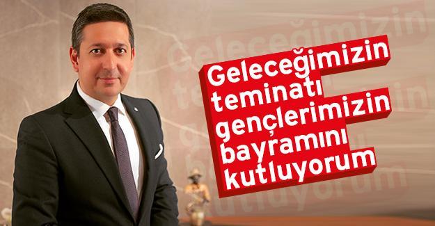 Başkan Korkmaz'dan 19 Mayıs mesajı