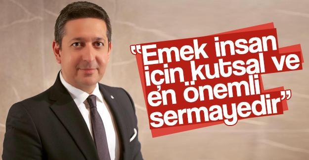 Başkan Korkmaz'dan 1 Mayıs mesajı