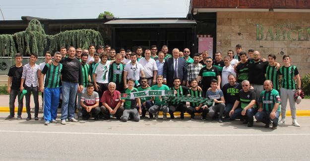 Başkan Özten taraftarları uğurladı