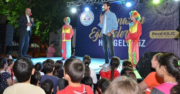 Erenlerde Ramazan etkinlikleri devam ediyor