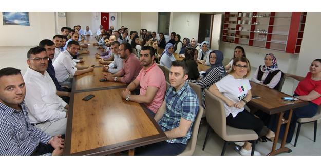 Gençlik ve Spor İl Müdürlüğü personeli bayramlaştı