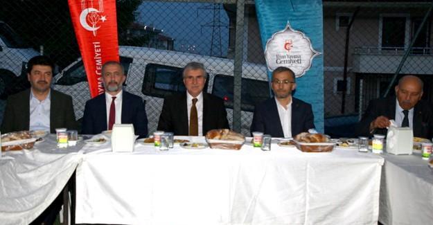 İYC iftarı Başkan Yüce eşliğinde yapıldı