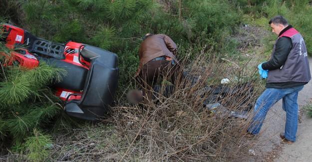 Kullandığı ATV'nin altında kalarak hayatını kaybetti