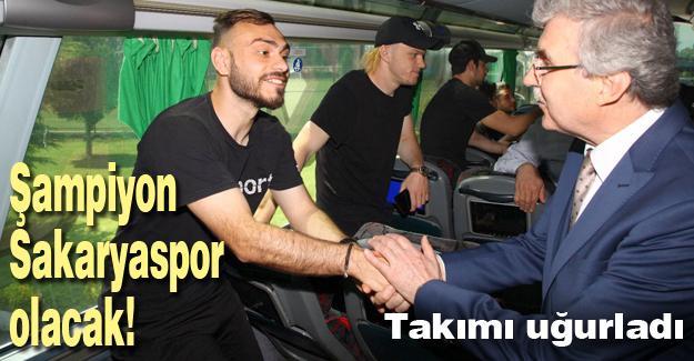 Şampiyon Sakaryaspor olacak!