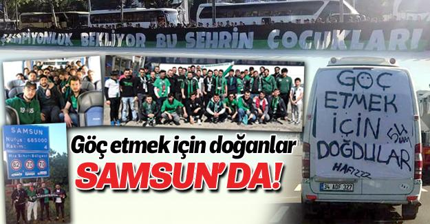 Taraftar Samsun'a göç ediyor