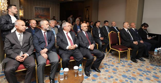 Vali Nayir çalıştaya katıldı