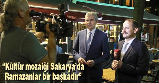 Yüce TRT Haber canlı yayınındaydı