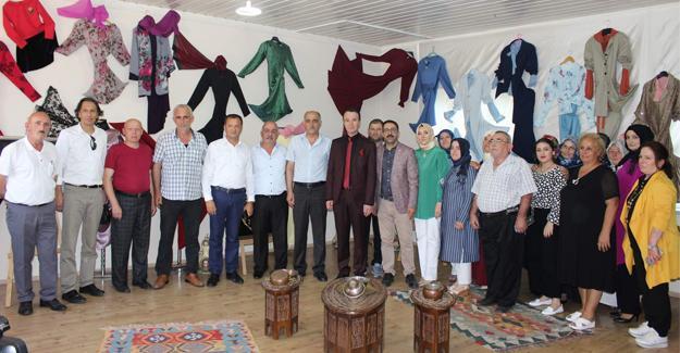 Arifiye HEM Kışlaçay kursu yılsonu sergisi açıldı