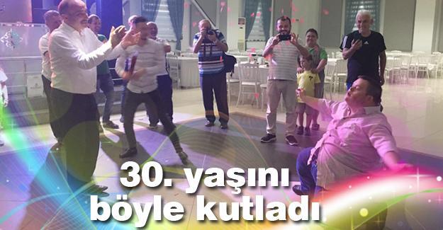 Aytaç Çapoğlu'na sürpriz doğum günü