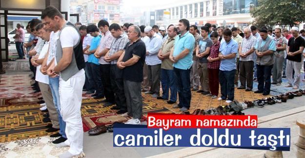 Sakarya'da vatandaşlar camilere akın etti