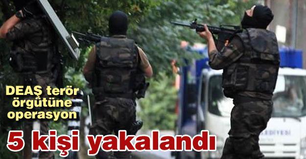 DEAŞ terör örgütüne operasyon!