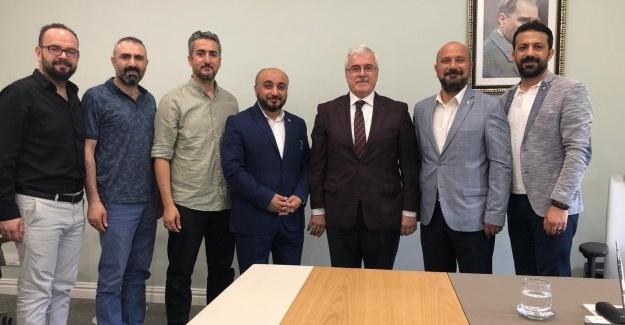 EBS'den Belpaş ve Büyükşehir ziyareti