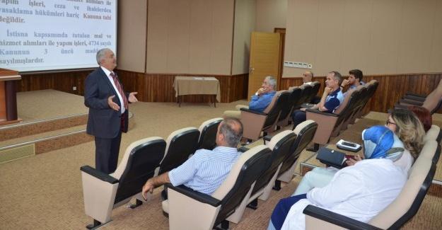 Erenler Belediyesi 'Personel Eğitim Seminerleri' başladı