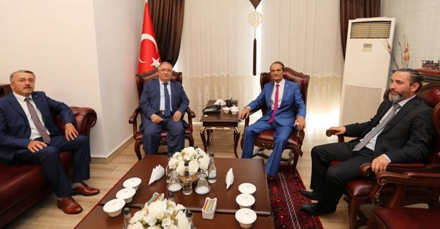 LDP Genel Başkanından Vali Nayir'e ziyaret