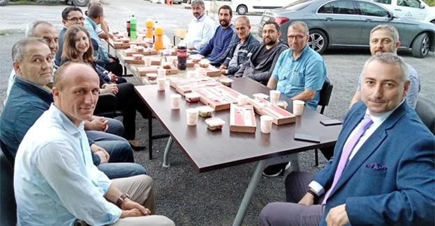 Odyakmaz'dan çalışanlara iftar ve sahur ziyareti