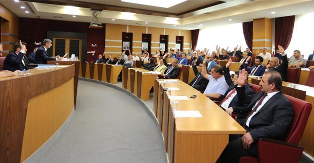 Serdivan Belediye Meclisi Haziran toplantısı yapıldı