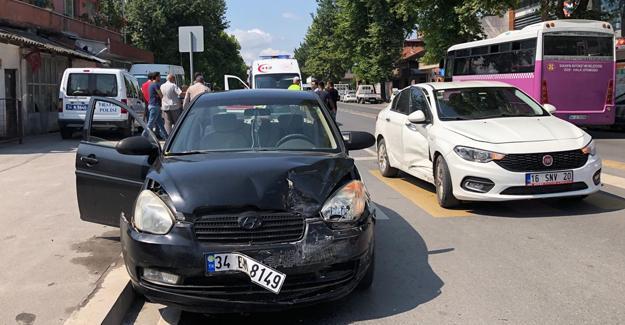 Tali yoldan kontrolsüz çıkış kazaya neden oldu!