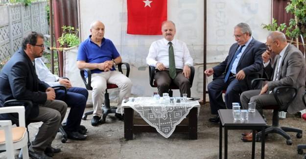 Vali Nayir'den Vali Çakacak'a taziye ziyareti