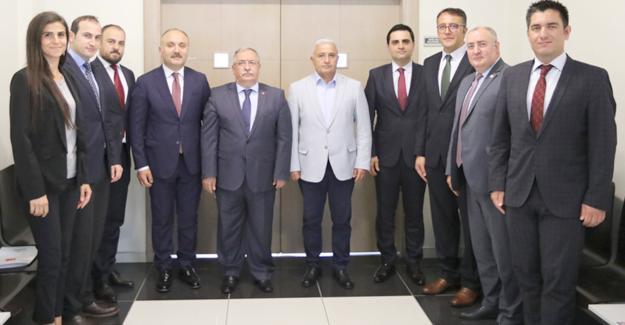 Vali Nayir'den Yatırım Destek Ofisine ziyaret