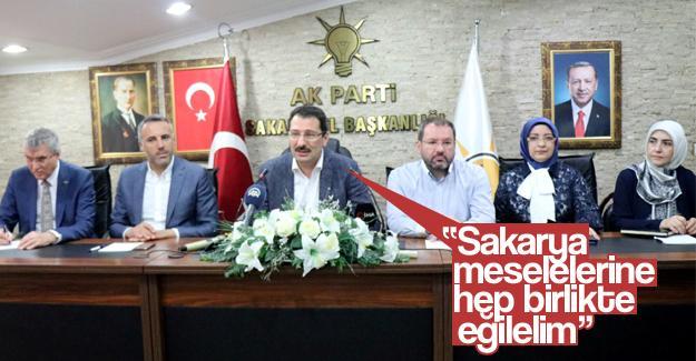 Ali İhsan Yavuz belediye başkanlarıyla buluştu