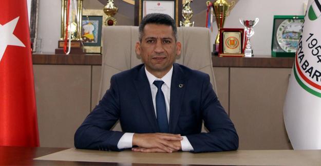 Baro Başkanı Burak'tan 'Basın Bayramı' mesajı