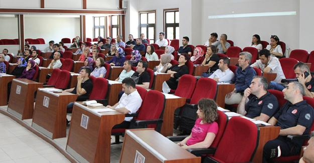 Büyükşehir Belediyesi'nde KBRN eğitimi