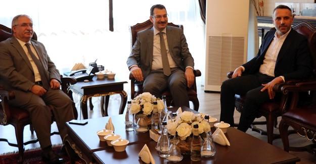 Genel Başkan Yardımcısı Yavuz'dan Vali Nayir'e ziyaret