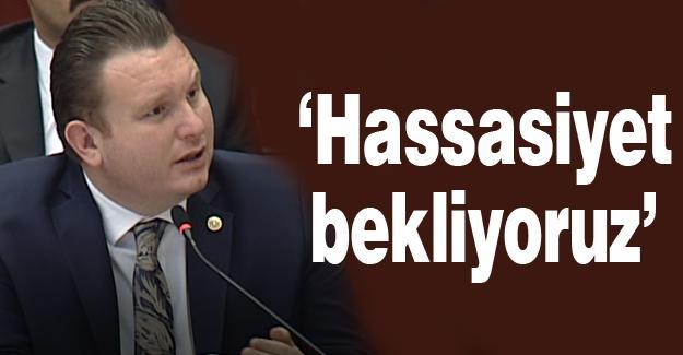MHP'li Bülbül Meclis'te Kocaali'yi konuştu
