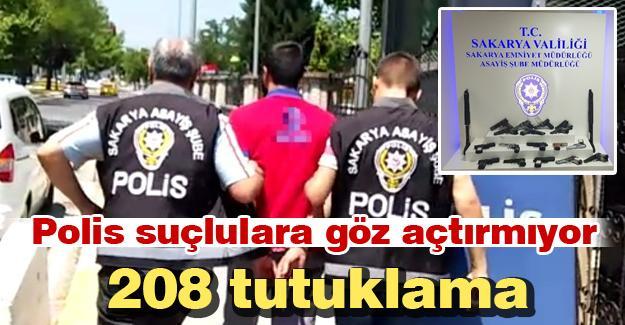 Polis suçlulara göz açtırmıyor