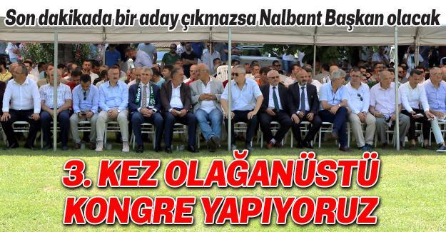 Sakaryaspor'da kongre günü