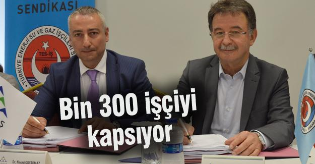SEDAŞ ile TES–İŞ toplu iş sözleşme imzaladı
