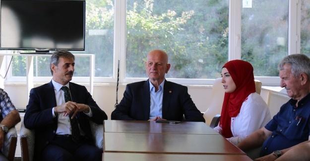 Türkçe öğrenmek için serdivan'a geldiler